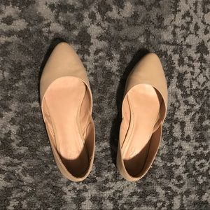Mix No. 6 Pointed Nude Flats